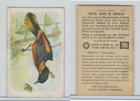 J9-4, Church & Dwight, Useful Birds America 8th Ser., 1925, #1 Oriole