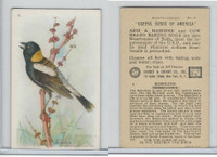 J9-4, Church & Dwight, Useful Birds America 8th Ser., 1925, #9 Bobolink