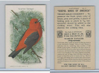 J9-5, Church & Dwight, Useful Birds America 9th Ser., 1925, #11 Scarlet Tanager