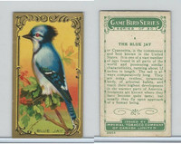 C14 Imperial Tobacco, Game Bird Series, 1910, #4 Blue Jay