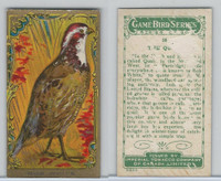 C14 Imperial Tobacco, Game Bird Series, 1910, #16 Bob White Quail