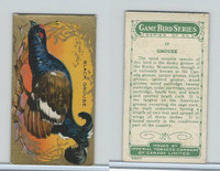 C14 Imperial Tobacco, Game Bird Series, 1910, #17 Black Grouse