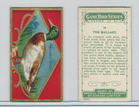 C14 Imperial Tobacco, Game Bird Series, 1910, #19 Mallard Duck