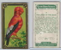 C14 Imperial Tobacco, Game Bird Series, 1910, #21 Cock of the Rock