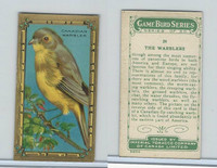 C14 Imperial Tobacco, Game Bird Series, 1910, #24 Canadian Warbler