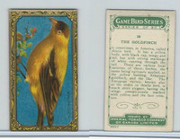 C14 Imperial Tobacco, Game Bird Series, 1910, #28 Goldfinch