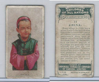 C6 Imperial Tobacco, Children Of All Nations, 1924, #11 China