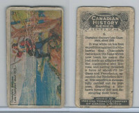 C5 Imperial Tobacco, Canadian History, 1926, #6 Champlain