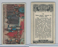 C5 Imperial Tobacco, Canadian History, 1926, #18 Frontenac