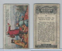 C5 Imperial Tobacco, Canadian History, 1926, #26 Verendryes Rockies