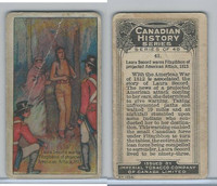 C5 Imperial Tobacco, Canadian History, 1926, #41 Laura Secora