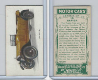 C22 Imperial Tobacco, Motor Cars, 1921, #16 Napier