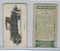 C22 Imperial Tobacco, Motor Cars, 1921, #43 Maxwell