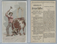 K2 Arbuckle Coffee, Subjects On Cooking, 1890, #22 Beef