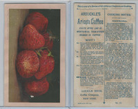 K2 Arbuckle Coffee, Subjects On Cooking, 1890, #32 Strawberries