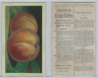 K2 Arbuckle Coffee, Subjects On Cooking, 1890, #49 Peaches