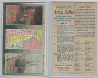 K6 Arbuckle Coffee, Illustrated Atlas of the U.S., 1890, #72 Delaware