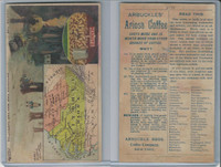 K6 Arbuckle Coffee, Illustrated Atlas of the U.S., 1890, #76 North Carolina