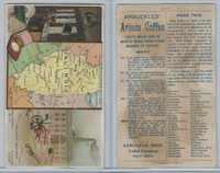 K6 Arbuckle Coffee, Illustrated Atlas of the U.S., 1890, #77 Illinios