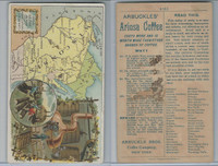 K6 Arbuckle Coffee, Illustrated Atlas of the U.S., 1890, #85 Wisconsin