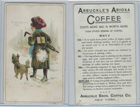 K9 Arbuckle Coffee, General Subjects, 1890, #79 Symptoms Of A Fall