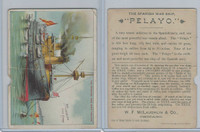 K64 McLaughlin Coffee, Peculiar War Ships, 1890, The Spanish Warship Pelayo