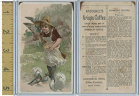 K2 Arbuckle Coffee, Subjects On Cooking, 1890, #2 Pigeons