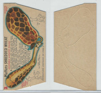 F279-30d Quaker, Circus Action Wild Animals, 1953, #2 Giraffe