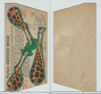 F279-30d Quaker, Circus Action Wild Animals, 1953, #3 Giraffe
