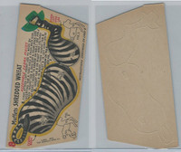 F279-30d Quaker, Circus Action Wild Animals, 1953, #8 Zebra Body