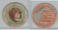F1 Dixie Cup, Circus Series, 1930, #10 Daniel The Chimpanzee