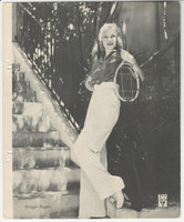 F4 Dixie Cup, Premium, 1934, Movie Stars, Ginger Rogers
