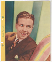 F5-1 Dixie Cup, Premium, 1935, Movie Stars, Dick Powell