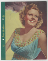 F5-3 Dixie Cup, Premium, 1937, Movie Stars, Jean Harlow
