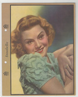 F5-4 Dixie Cup, Premium, 1938, Movie Stars, Annabella