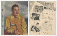 F5-8 Dixie Cup, Premium, 1942, Movie Stars, Bob Hope, Golf
