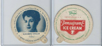 F5-18 Dixie Cup, 1952, Movie Stars, Elizabeth Taylor
