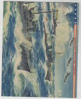 F6-2 Dixie Cup, Premium, 1942, America's Fighting Forces, Submarine Chasers