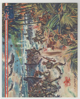 F6-4 Dixie Cup, Premium, 1944, United Nations At War, New Zealand