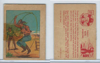 F278-12 Post Cereal, Hopalong Cassidy Wild West, 1951, #18 Fancy Rope