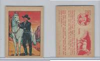 F278-12 Post Cereal, Hopalong Cassidy Wild West, 1951, #20 Topper