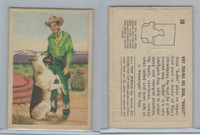 F278-19 Post Cereals, Roy Rogers Pop-Out, 1953, #10 Roy Trains
