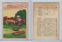 F278-19 Post Cereals, Roy Rogers Pop-Out, 1953, #12 Sundown