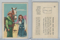 F278-19 Post Cereals, Roy Rogers Pop-Out, 1953, #15 Trigger, Dale, Roy