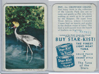 F333 Jewel, Animal Of The Week, 1956, Pet, Crowned Crane