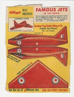 F273-8 Kellogg, Famous Jets Of The World, 1950's, #1 Boulton Paul
