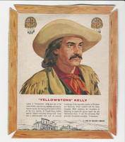 F273-47 Kellogg, Men Of The West, 1963, Yellowstone Kelly