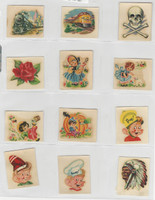 F273-72 Kellogg, Pep Decal Transfers, 1940's, Series 1, Lot of 29