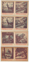 F275-21 Nabisco Shredded Wheat Wild Animals Series, 1953, 7 Panels