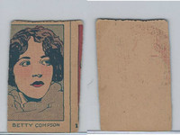 W512 Strip card, Famous People, 1926, #12 Betty Compson